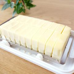 バター/バターケース/冷蔵庫/冷蔵庫収納 「ステンレスカッター式 バターケース」と…