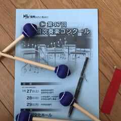 娘/中学生/吹奏楽/令和の一枚/おでかけワンショット 今日は娘の吹奏楽コンクール 3年生で、ラ…