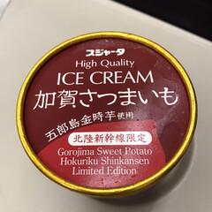 限定アイス/北陸新幹線/おでかけ/スイーツ