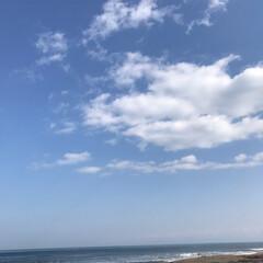 晴天/おでかけ/おでかけワンショット お休みの日に天気が良く予定もなく。 空を…