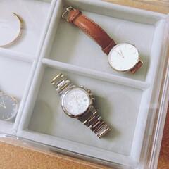 腕時計収納/無印良品/アクリルケース/収納/整理 無印良品のアクリルケースを使用した腕時計…