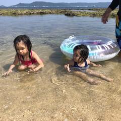 海水浴/初泳ぎ/海/フォロー大歓迎/LIMIAファンクラブ/LIMIAおでかけ部/... 昨日は、とても良い天気だったので孫ちゃん…