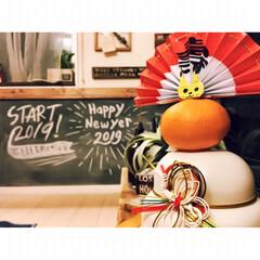 男前インテリア/チョークアート/黒板/あけおめ/フォロー大歓迎/冬/... 変わらぬご縁、そして、 新たなご縁があり…