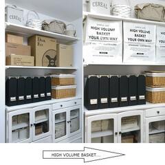 シンデレラフィット/セリア/100均/収納 納戸の壁に作り付けた棚を、季節家電の収納…