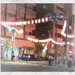 夏ですねー/東京音頭/盆踊り 仕事帰りに駅に向かっていると、聞こえてき…