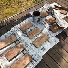 DIY/自作/木工/工作/DULTON/ダルトン/... 黒崎店モデルハウスのポストを作ってみまし…