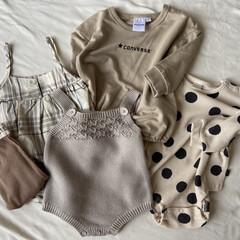 プチプラ/バースデー購入品/ベビー服/子ども服/子供服/テータテート/... 久しぶりに子供服を見にバースデーに行った…