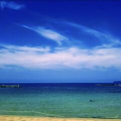 海/夏/令和の一枚/至福のひととき/風景/地元のオススメ/... 絶景日本海☆これが地方住まいの良いところ…