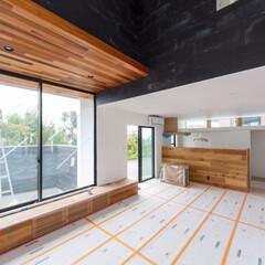 インテリア/リビング/設計事務所/デザイン住宅/マイホーム/マイホーム計画/... 内部仕上げや照明取付けも終わり、週明けに…