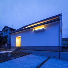 注文住宅/家づくり/設計事務所/玄関ドア/外観デザイン/外観/... 外観&玄関ドア♪ : ■haus-wal…(2枚目)