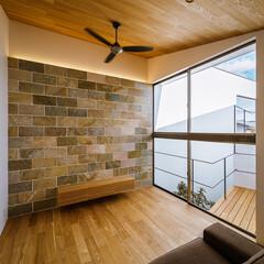 Living/livingroom/interior/stone/HOUSE/天然石/... 昨日までの完成見学会でも人気のあったha…