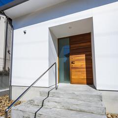 注文住宅/家づくり/設計事務所/玄関ドア/外観デザイン/外観/... 外観&玄関ドア♪ : ■haus-wal…(4枚目)
