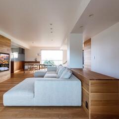 寝室/キッチン/リビング/設計事務所/ダイニング/家づくり/... ■re.haus-tn■ コンクリートの…