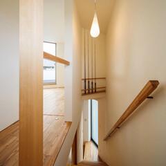 家づくり/注文住宅/マイホーム/新築一戸建て/新築/一戸建て住宅/... 高級な釣り竿は毎日上り下りする階段のデッ…