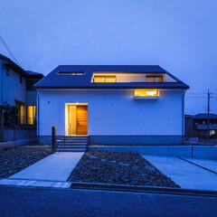 注文住宅/家づくり/設計事務所/玄関ドア/外観デザイン/外観/... 外観&玄関ドア♪ : ■haus-wal…(3枚目)