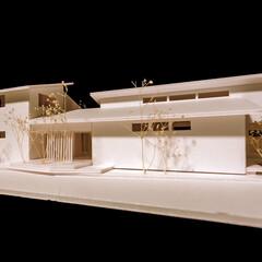 二世帯住宅/注文住宅/外観デザイン/外観/玄関/設計事務所/... □haus-sand□ 兵庫県姫路市で…