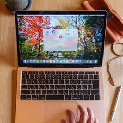 便利アイテム/便利グッズ/作業効率/マックブック/マック/ナムス/... とある企業様からの依頼で、ノートパソコン…