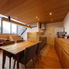 サンワカンパニー/ダイニング/設計事務所/インテリア/家具/住まい/... ■haus-wave■ キッチンはサンワ…