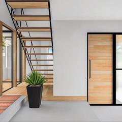 パース/設計事務所/設計/家づくり/家/階段/... □haus-cros□ 絶賛計画中の兵庫…