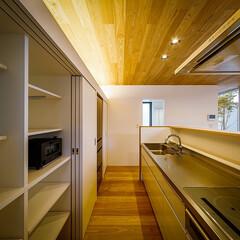 設計事務所/設計/家具/インテリア/ダイニング/ウッドデッキ/... リビング、中庭周り♪ : ■haus-f…(5枚目)