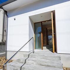 注文住宅/家づくり/設計事務所/玄関ドア/外観デザイン/外観/... 外観&玄関ドア♪ : ■haus-wal…(5枚目)