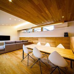 設計事務所/設計/家具/インテリア/ダイニング/ウッドデッキ/... リビング、中庭周り♪ : ■haus-f…(4枚目)