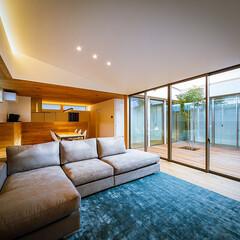 設計事務所/設計/家具/インテリア/ダイニング/ウッドデッキ/... リビング、中庭周り♪ : ■haus-f…(3枚目)