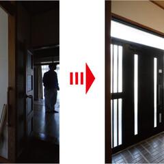 玄関/玄関収納/クローゼット/式台 玄関には昔ながらの下駄箱しかありませんで…