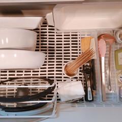 アイリスオーヤマ IH 対応 フライパン 鍋 6点セット ダイヤモンドコートパン 20cm 26cm シルバー 取っ手 | アイリスオーヤマ(圧力鍋)を使ったクチコミ「お鍋やフライパンは ガスコンロの下の引き…」