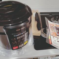 電気調理/電気圧力鍋/家電/キッチン/嫁姑 義母からのプレゼント【電気圧力鍋】  「…