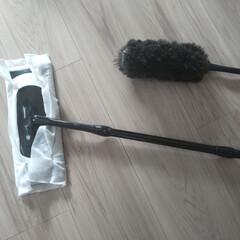 クイックルワイパー フロア用掃除道具 ブラックカラー 本体+2種類シートセット | クイックル(フロアワイパー)を使ったクチコミ「早朝や深夜にお掃除したい!ってときは 静…」