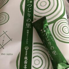 ぷらっと京都/お菓子/抹茶/京都 先日の京都の家へのお土産です😊 急いで駅…