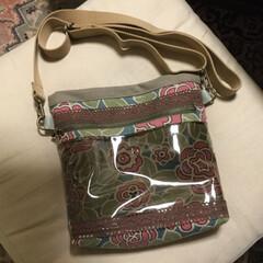 かばん教室/カバン/サコッシュ/雑貨 昨日のかばん教室の作品です🤣 軽い感じの…