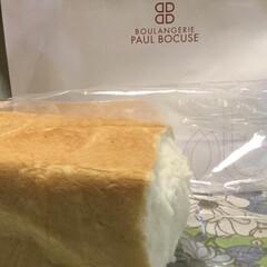 蜂蜜/生食パン/グルメ/フード ポールボキューズベーカリーの本生食パンで…