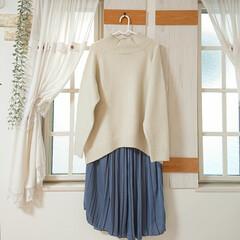 SALE/ファッション/100均/DIY saleで洋服買ってきました👍 白のビッ…(1枚目)