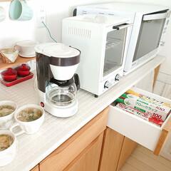 トースター オーブントースター おしゃれ 2枚 縦型 オリジナルレシピ付 コンパクト キッチン家電 プレゼント ラドンナ Toffy トフィ―オーブントースター | Toffy(トースター)を使ったクチコミ「私は夕飯のスープは、午後に作りカップに入…」