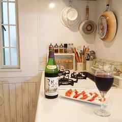 7513100 トライタン ワイングラスL 20270A02 4521574004202(その他調理用具)を使ったクチコミ「最近ハマってる、このワイン♪ ワインのお…」