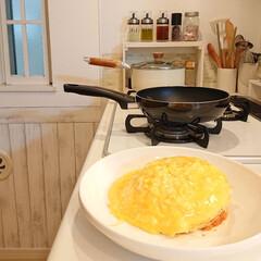 オムライス/娘の手料理/おうちごはん/雑貨/暮らし/DIY/... おはようございます🎵 小6娘ちゃんが、朝…