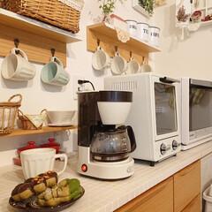 トースター オーブントースター おしゃれ 2枚 縦型 オリジナルレシピ付 コンパクト キッチン家電 プレゼント ラドンナ Toffy トフィ―オーブントースター | Toffy(トースター)を使ったクチコミ「旦那さんがお散歩の帰りにミスタードーナツ…」
