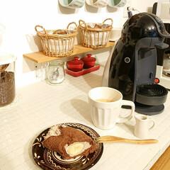 はんぷ亭/まるごとバナナ/お家カフェ/100均/キッチン 昨日家でゆっくりお家カフェしました♪ ま…