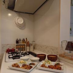 お味噌汁/娘のお料理/夕飯のおかず/おうちごはん 昨日の夕飯はタンドリーチキンと豚肉を焼肉…