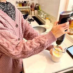 コードレス充電式ハンドブレンダー RHB-100J | クイジナート(その他調理用具)を使ったクチコミ「小6娘ちゃん、お菓子作り始めました♪ オ…」(3枚目)