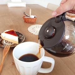 コーヒー/お家カフェ/セリア/100均/おうちカフェ 最近は粉コーヒーがお気に入りです♪ ちょ…