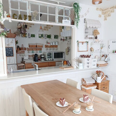 ダルゴナコーヒー/お家カフェ/住まい/おうちカフェ/ダイニング ダルゴナコーヒーを作ってみました♪ SN…
