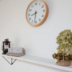 アウトドアランタン キャプテンスタッグ アンティーク暖色LEDランタン 120×220mm ブロンズ   CAPTAIN STAG(LEDランタン)を使ったクチコミ「リビングの時計が調子悪くなり、ダイニング…」