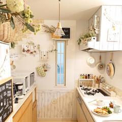 limiaキッチン同好会/キッチン/雑貨/おうちカフェ/DIY 今日は天気が悪いので、家事をゆっくりして…