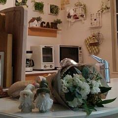 オーナメント/サンタクロース/百円/ナチュラルキッチン/雑貨 ナチュラルキッチンで可愛いサンタクロース…(1枚目)