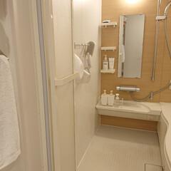 パール金属 バスアクリア お風呂グッズ 3点セット ブルー 風呂桶 洗面器 バスチェア お風呂... | パール金属(バスチェア)を使ったクチコミ「今日は朝からお風呂掃除しました👍️ めち…」