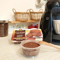 スイーツ/冷凍食品/業務用スーパー 業務用スーパーで買ったチョコレートケーキ…