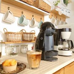 Nestle/ネスレ MD9744-PB ネスカフェ ドルチェグスト Piccolo プレミアム | ネスカフェ ドルチェ グスト(コーヒーメーカー)を使ったクチコミ「昨日カインズホームでマフィン買いました。…」